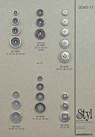 Metal buttons 40-11