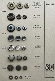 Metal buttons 42-11