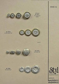 Metal buttons 49-12