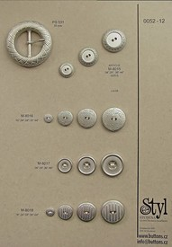 Metal buttons 52 -12